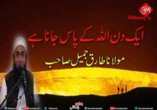 Aik Din Allah Ke Pas Jana Hai Molana Tariq Jameel Sahab