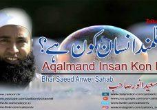 Aqalmand Insan Kon Hai | Bhai Saeed Anwer Sahab