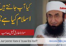 Molana Tariq Jameel | Islam Kya Hai?