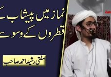 Namaz mein Peshab ke Qatron ke Waswasay | Disease of Urine Drops in Prayer