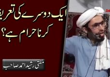 Aik Doosray ki Taareef karna Haraam hai? | Is it Permissible to Praise each other?