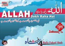 Allah Dekh Rha Ha – Hafiz Fahad Shah
